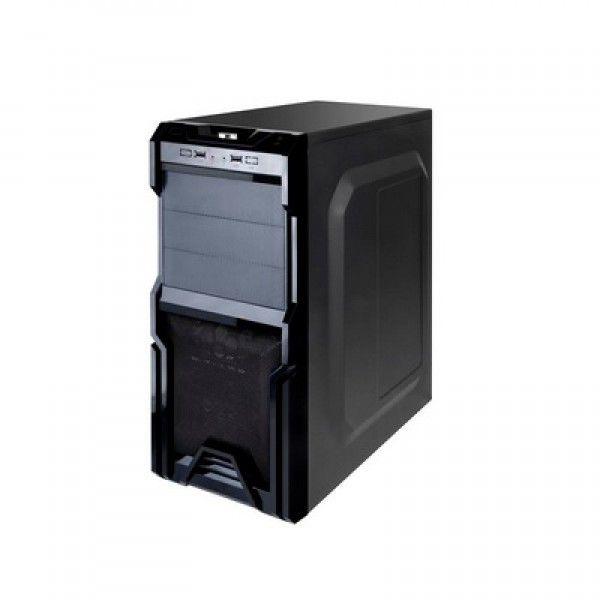 GABINETE 4 BAIAS MCA-CH02A/BK 230W C/FONTE PRETO MYMAX