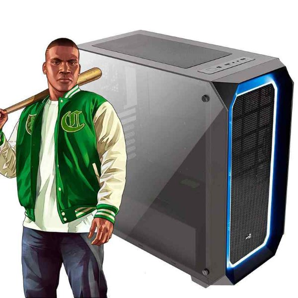 PC GAMER GANGSTER 01 - GTA V