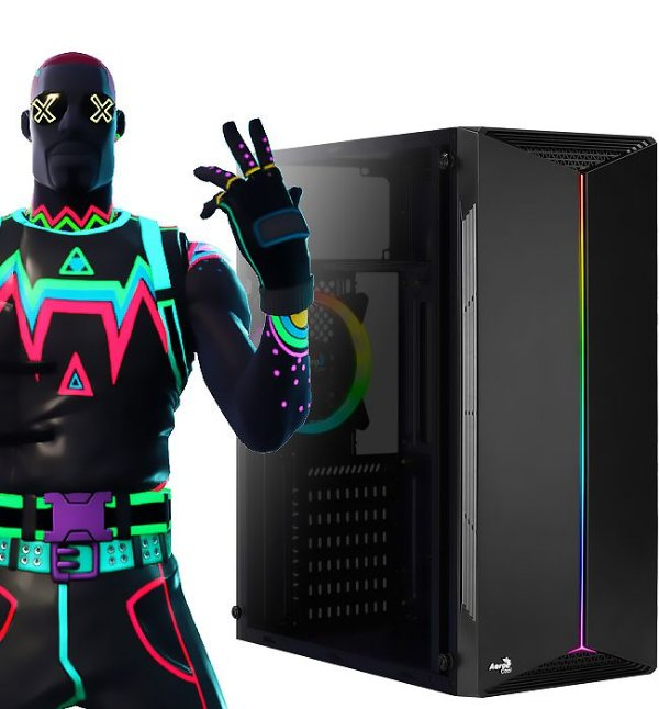 PC GAMER FORTBOX 01 - FORTNITE