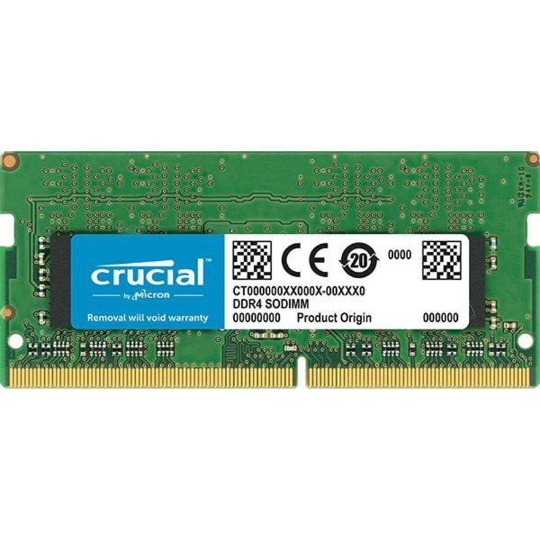 MEMORIA 8GB DDR4 2400 MHZ NOTEBOOK CT8G4SFS824A CRUCIAL