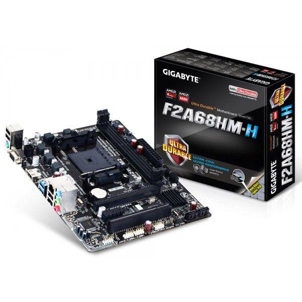 PLACA MAE FM2 MICRO ATX GA-F2A68HM-HD2 DDR3 GIGABYTE