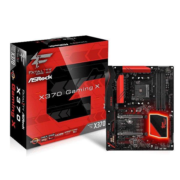 PLACA MAE AM4 ATX FATAL1TY X370 GAMING X DDR4 ASROCK