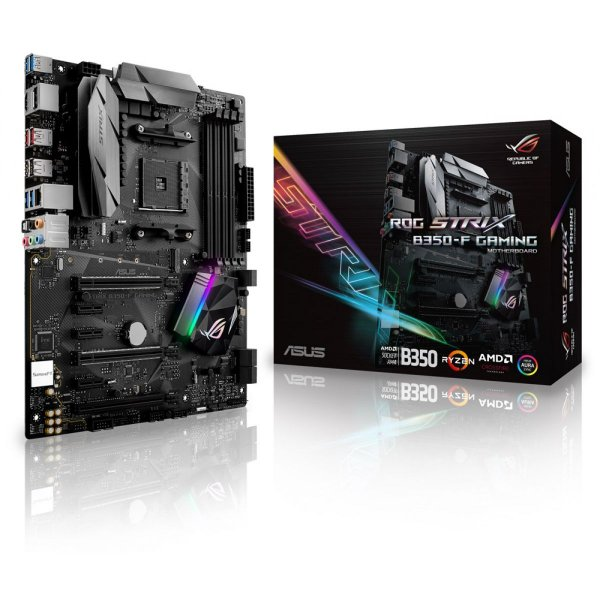 PLACA MAE AM4 ATX B350-F DDR4 GAMING ROG STRIX ASUS