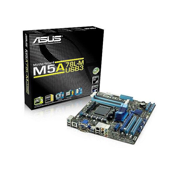 PLACA MAE AM3 S/V/R M5A78L-M/USB3 DDR3 ASUS
