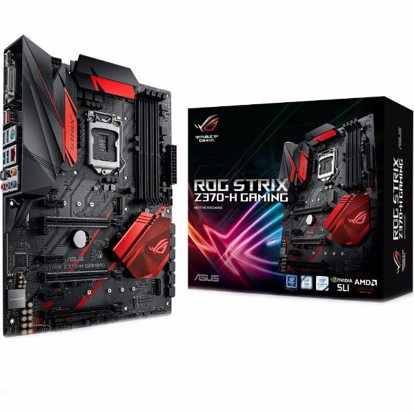 PLACA MAE 1151 ATX Z370-H STRIX GAMING DDR4 M.2 SOCKET 3 ASUS