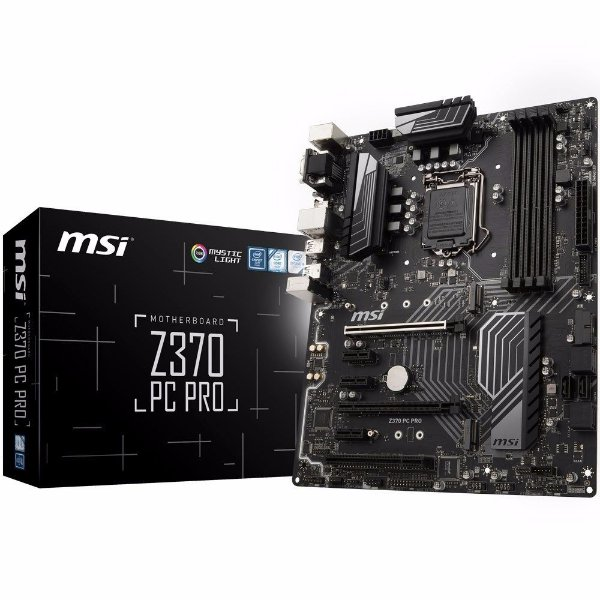 PLACA MAE 1151 ATX Z370 PC PRO DDR4 MSI