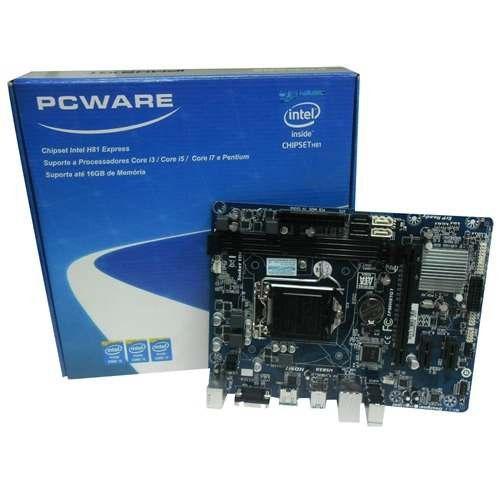 PLACA MAE 1150 S/V/R IPMH81G1 DDR3 VGA/HDMI PCWARE