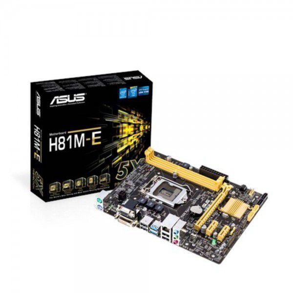 PLACA MAE 1150 MICRO ATX H81M-E DDR3 VGA, DVI, USB 3.0 ASUS