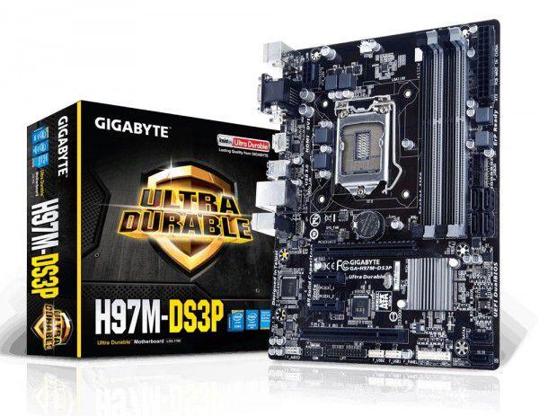 PLACA MAE 1150 MICRO ATX GA-H97M-DS3P DDR3 HDMI/DVI/VGA GIGABYTE