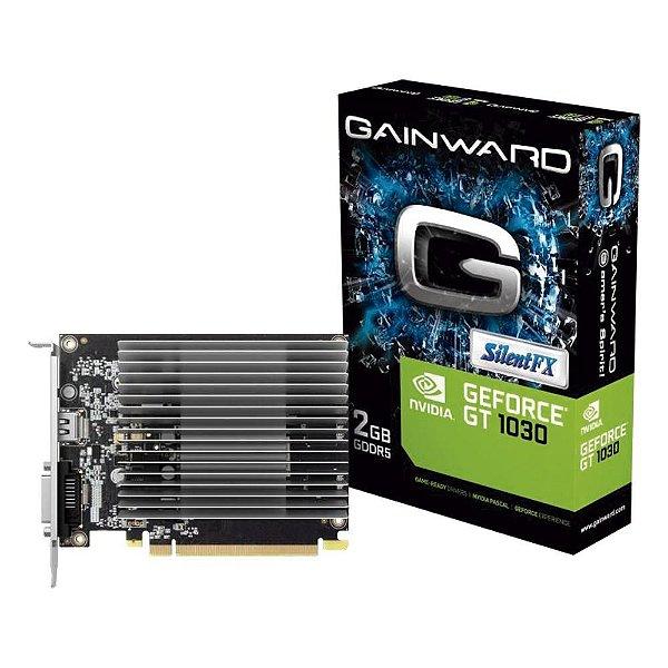 PLACA DE VIDEO NVIDIA GEFORCE GT 1030 2GB, GDDR5 GAINWARD