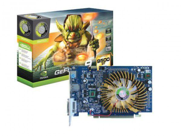 PLACA DE VIDEO 1024 PCIEXP 9500 GT R-VGA150909H 128BITS DDR2 POINT OF VIEW