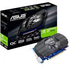 PLACA DE VIDEO ASUS GEFORCE GT 1030 2GB OC PHOENIX DDR5 64 BITS -  PH-GT1030-O2G