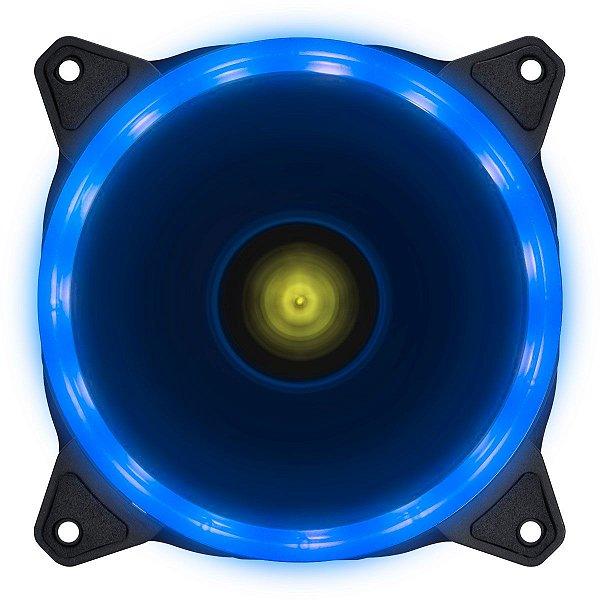 COOLER FAN PARA  GABINETE 120MM VX GAMING V.RING LED AZUL VINIK