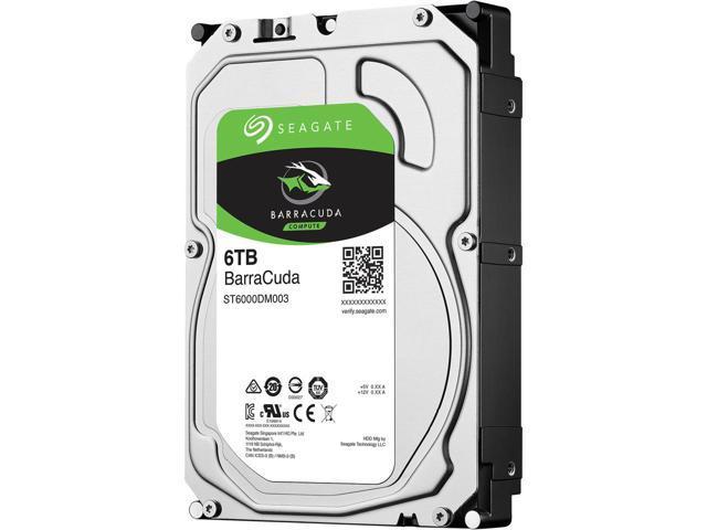 HD 6000GB SATA 3 6GB/S ST6000DM003 5400RPM BARRACUDA SEAGATE