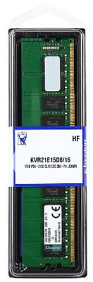 MEMORIA 16GB DDR4 2133 MHZ ECC KVR21E15D8/16 UDIMM 2RX8 KINGSTON