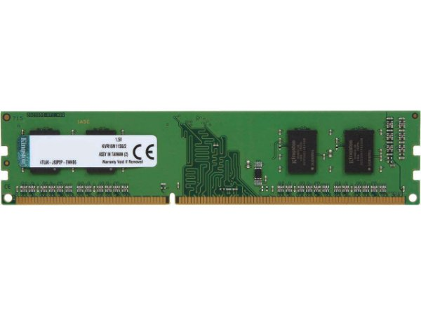 MEMORIA 2G DDR3 1600 MHZ KVR16N11S6/2 KINGSTON