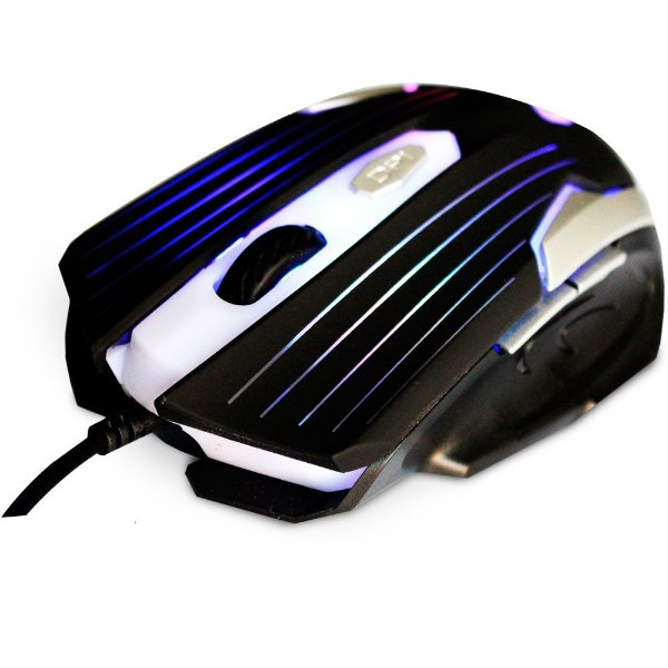 MOUSE USB MG-11 BSI 2400 DPI GAMER 6 BOTÕES LED MULTICOLOR C3TECH