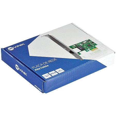 PLACA DE REDE PCI-E 10/100/1000 PRV-1000E VINIK