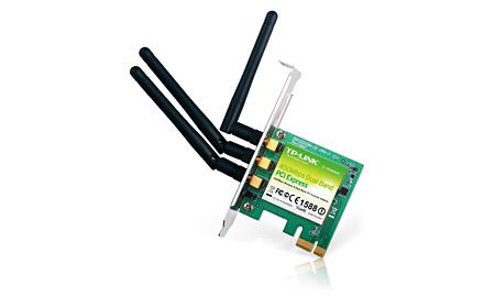 PLACA DE REDE PCI-E 450 MBPS 3 ANTENAS WDN4800 TP LINK
