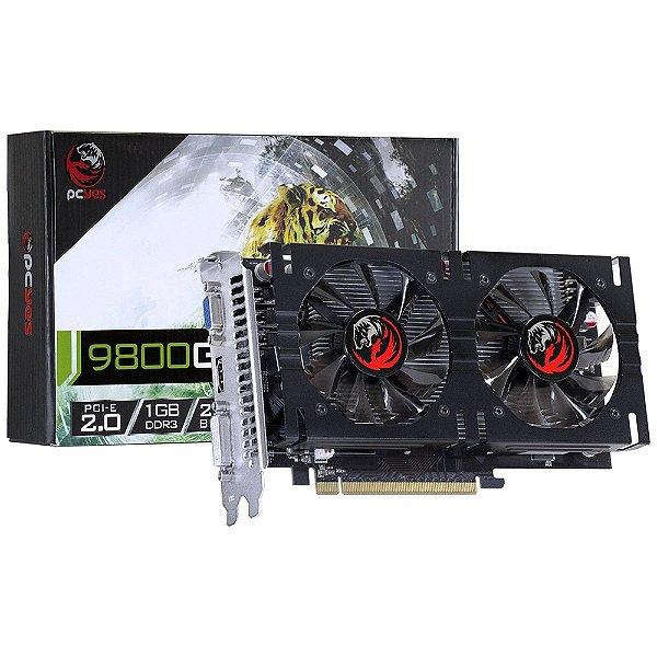 PLACA DE VIDEO 1 GB PCIEXP NVIDIA GEFORCE 9800 PJ980025601D3 256BITS DDR3 PCYES