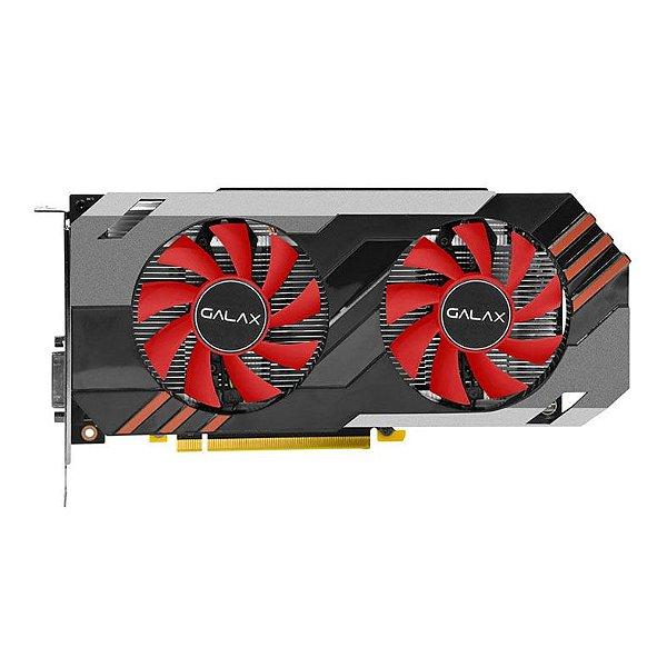PLACA DE VIDEO 6GB PCIEXP GTX 1060 OC 60NRH7DSN5E6 192 BITS GDDR5 ENTUSIASTA GALAX