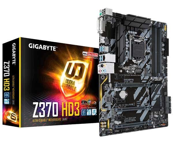 PLACA MAE 1151 ATX Z370 HD3 RGB DDR4 GIGABYTE