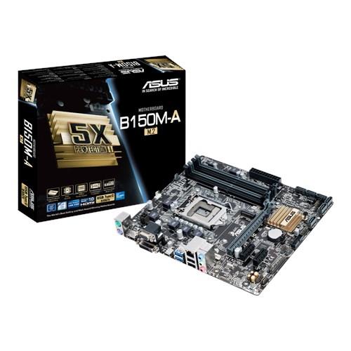 PLACA MAE 1151 MICRO ATX B150M-A / M2 DDR4 ASUS  IMPORTADO