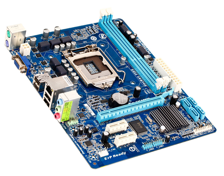 PLACA MAE 1155 S/V/R/GL GA-H61M-S1 DDR3 SEMI NOVO 3 MESES DE GARANTIA GIGABYTE