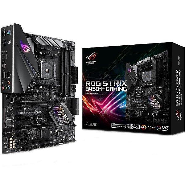 PLACA MAE AM4 ATX B450-F DDR4 ROG STRIX GAMING ASUS