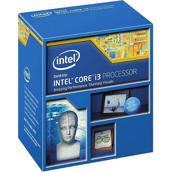 PROCESSADOR 1150 CORE I3 4160 3.6 GHZ 3 MB CACHE INTEL