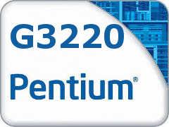 PROCESSADOR 1150 PENTIUM G3220 3,0 GHZ HASWELL 3 MB CACHE DUAL CORE INTEL SEM EMBALAGEM
