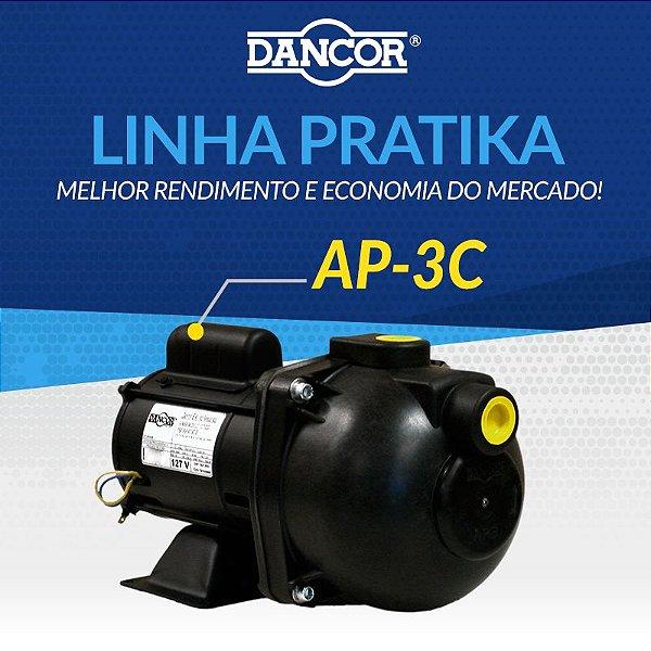 Motobomba Auto-aspirante Dancor Ap-3c 1.0cv Mono 220v