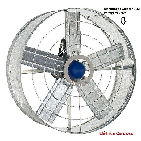 Exaustor de Parede 40cm 144W Marca: Solaster 220V Monofásico
