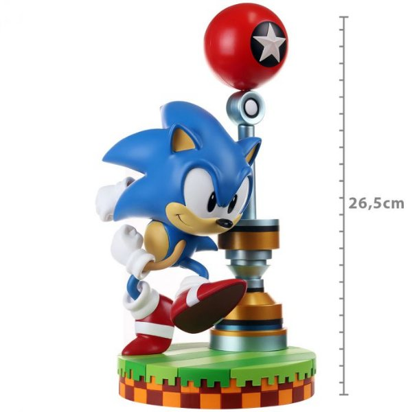 ACTION FIGURE-SONIC THE HEDGEHOG-SONIC-STANDARD EDITION