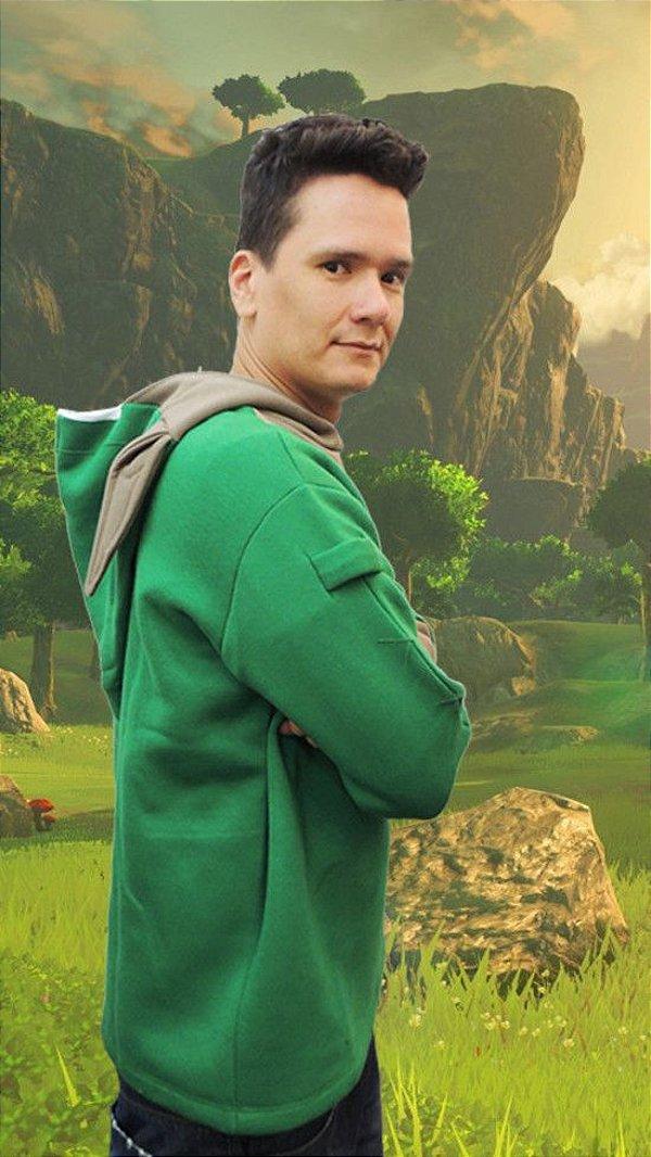 Moletom Link (Legend of Zelda)