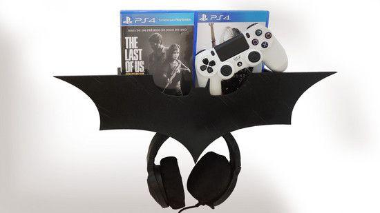 Suporte Headset Batman Kit Básico (Desmontado)