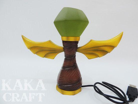 Luminária USB Ward Verde (Sentinela League of Legends)