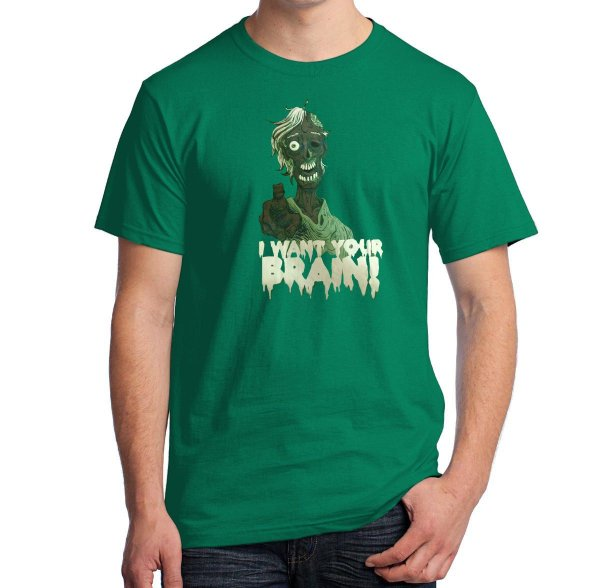 Camiseta I Want Your Brain!
