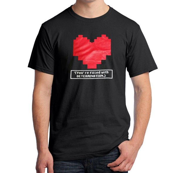 Camiseta You're Filled With Determination (Undertale)