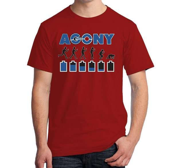Camiseta Agony (Pokemon Go)