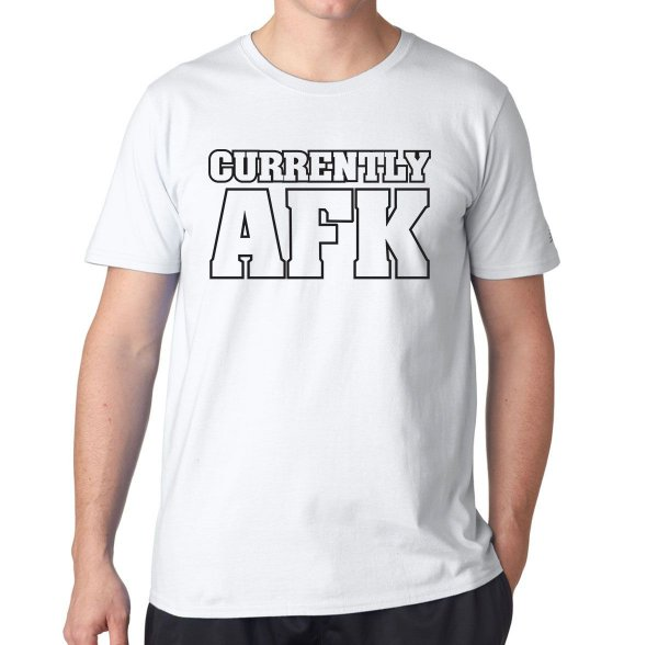 Camiseta Currently AFK