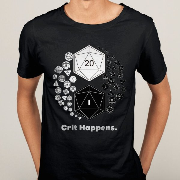 Camiseta Crit Happens Yin Yang