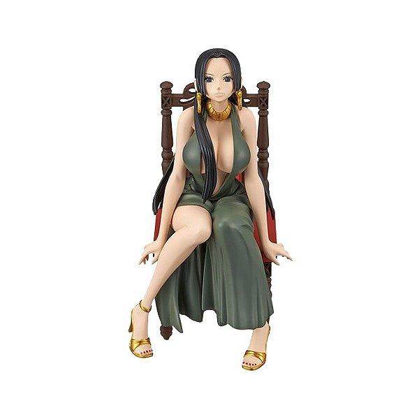 Action Figure One Piece Boa Hancock Black Dress