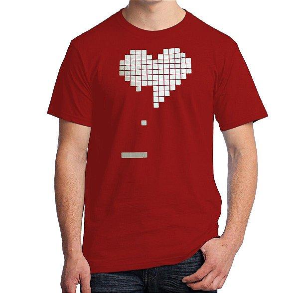 Camiseta Coração Arkanoid