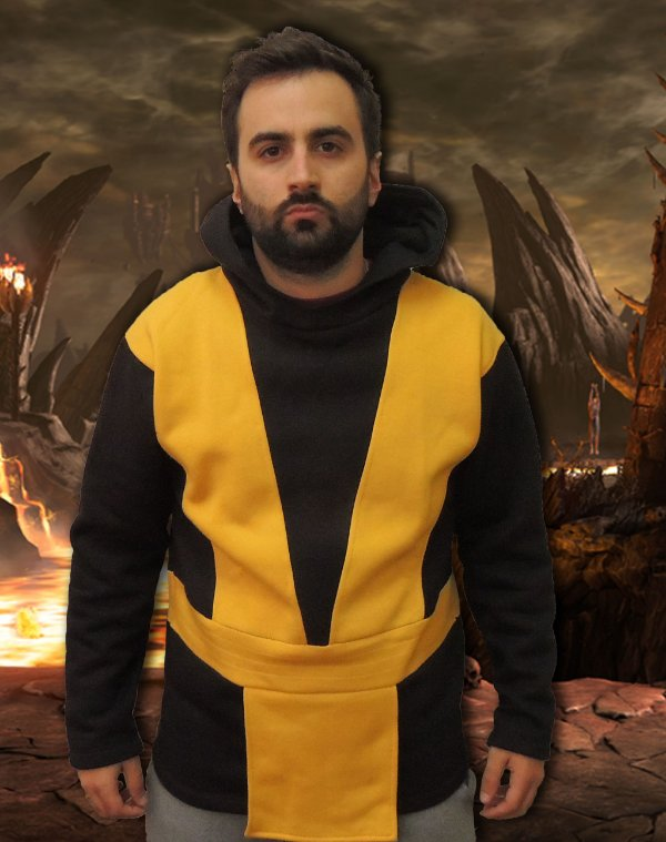 Moletom Mortal Kombat Scorpion