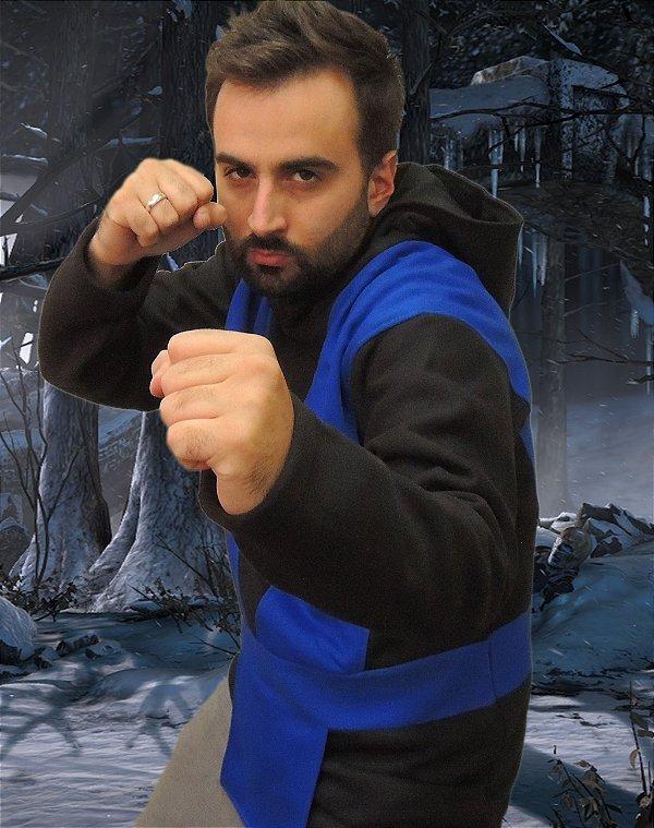 Moletom Mortal Kombat Sub-Zero