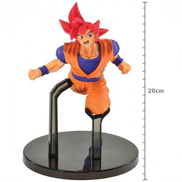 Action Figure Dragon Ball Super Son Goku Fes - Super Saiyan God