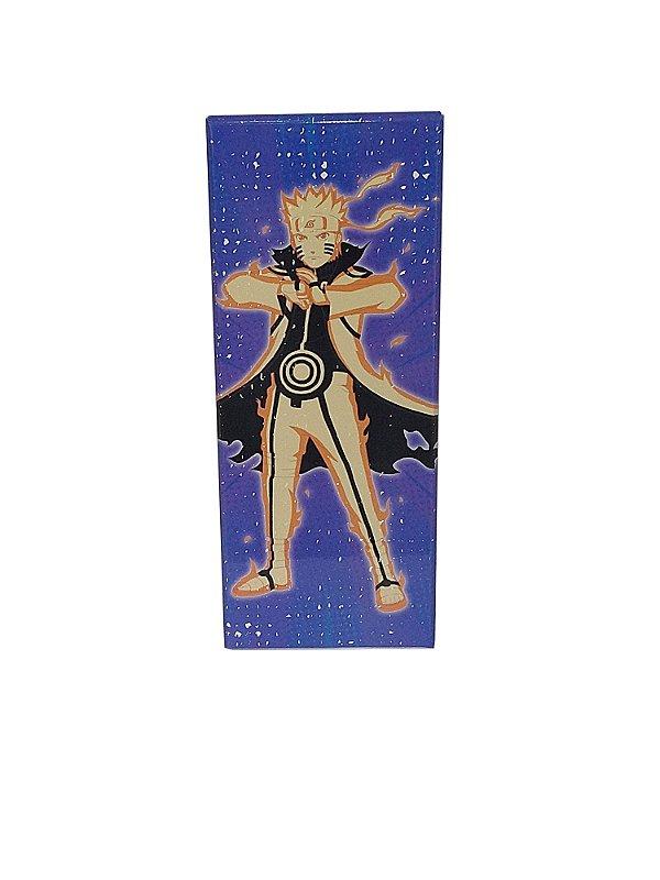 Placa Decorativa - Naruto (Manto Kurama) - Naruto Shippuden