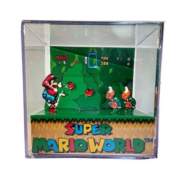 Diorama Cubo Super Mario World