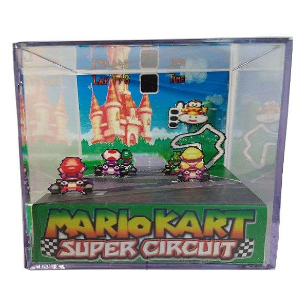 Diorama Cubo Super Mario Circuit